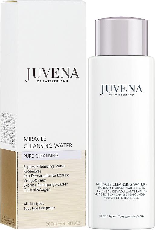 Agua micelar para rostro y ojos con extracto de nenúfar blanco y pantenol - Juvena Pure Cleansing Miracle Cleansing Water — imagen N1