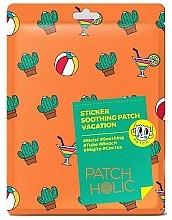 Perfumería y cosmética Parches calmantes para rostro y cuerpo con extracto de cactus - Patch Holic Sticker Soothing Patch Vacation