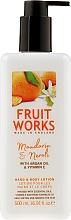 Perfumería y cosmética Loción para cuerpo y manos, mandarina & neroli - Grace Cole Fruit Works Hand & Body Lotion Mandarin & Neroli