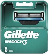 Perfumería y cosmética Recambios de cuchillas, 5uds. - Gillette Mach3