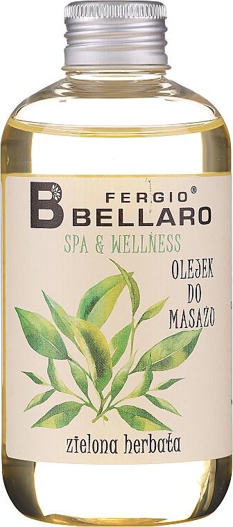 Aceite de masaje corporal con aroma a té verde - Fergio Bellaro Massage Oil Green Tea