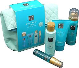 Perfumería y cosmética Set corporal - Rituals The Ritual of Karma (crema corporal/70ml + espuma de ducha/50ml + aceite de ducha/75ml + spray para cabello y cuerpo/20ml)