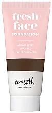 Perfumería y cosmética Base de maquillaje con vitamina C y ácido hialurónico - Barry M Fresh Face Liquid Foundation