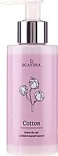 Perfumería y cosmética Crema de manos con aceite de semilla de algodón - Scandia Cosmetics Cotton Hand Cream