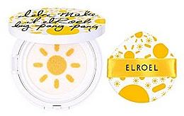 Perfumería y cosmética Protector solar cushion con esponja - Elroel Pang Pang Big Sun Cushion SPF 50+