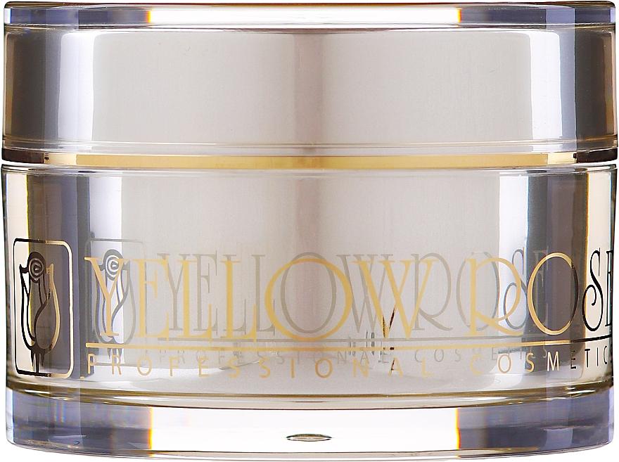 Crema facial reafirmante con proteínas de seda, oligopéptidos y colágeno marino - Yellow Rose Golden Line Face Firming Cream