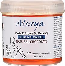 Perfumería y cosmética Pasta depilatoria de azúcar con polvo de cacao - Alexya Sugar Paste Natural Chocolate