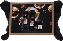 Perfumería y cosmética Set para cabello (champú/250ml+ acondicionador/200ml+ mascarilla/300ml+ neceser) - Schwarzkopf Gliss Kur Ultimate Repair