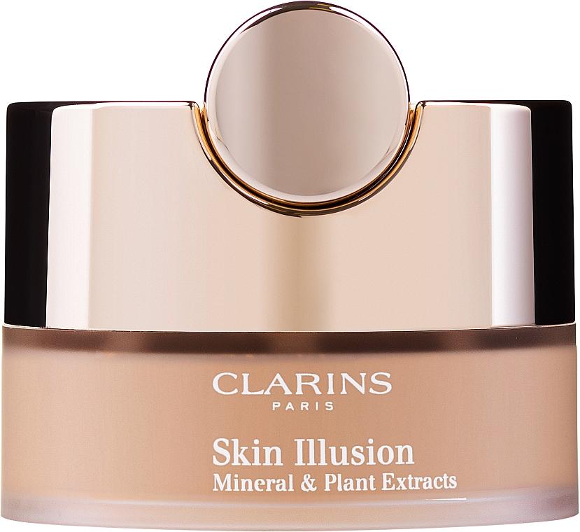 Base de maquillaje en polvo suleto - Clarins Skin Illusion Loose Powder Foundation