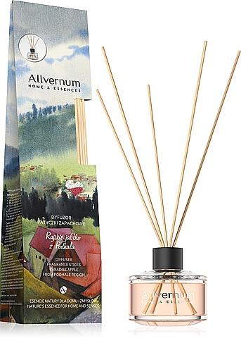Ambientador Mikado, aroma a manzana paradisíaca - Allverne Home & Essences Diffuser