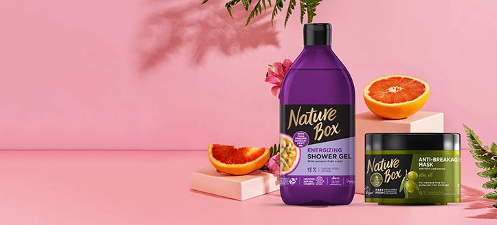 Rebajas del 30% en productos promocionales de Nature Box. Los precios indicados tienen el descuento aplicado