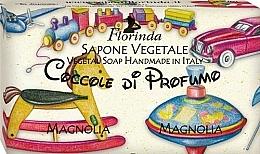 Perfumería y cosmética Jabón vegetal artesanal con aroma a magnolia - Florinda Sapone Vegetale Magnolia Vegetal Soap Handmade