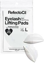Perfumería y cosmética Almohadillas de silicona para elevación de pestañas, L, 2uds. (recambio) - RefectoCil Eyelash Lifting Pads L refill