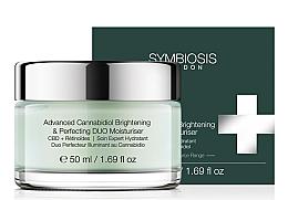 Perfumería y cosmética Crema facial hidratante con CBD y retinoide - Symbiosis London Advanced Cannabidiol Brightening & Perfecting DUO Moisturiser