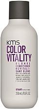 Perfumería y cosmética Acondicionador antiamarillo con ácido láctico - KMS California Colour Vitality Blonde Conditioner