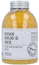 Perfumería y cosmética Sal de baño del Mar Muerto con aroma a vainilla - Sefiros Original Dead Sea Bath Salt Vanilla