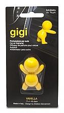 Perfumería y cosmética Ambientador de coche con aroma a vainilla amarilla - Mr&Mrs Gigi Car Freshener Yellow Vanilla
