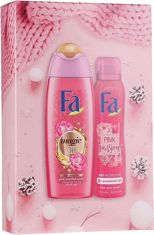 Set - Fa Pink Passion (gel de ducha/250ml + deo spray/150ml)