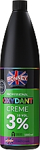 Perfumería y cosmética Crema oxidante profesional 10 vol. 3% - Ronney Professional Oxidant Creme 3%