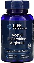 Perfumería y cosmética Complemento alimenticio en cápsulas de arginato de acetil L-carnitina - Life Extension Acetyl-L-Carnitine Arginate