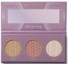 Perfumería y cosmética Paleta de contorno facial - Affect Cosmetics Contour Palette 2