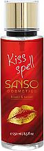 Perfumería y cosmética Spray corporal perfumado, Beso mágico - Sanso Cosmetics Kiss Spell Body Spray