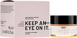 Perfumería y cosmética Bálsamo de contorno de ojos concentrado con avena y aceite de jojoba - Veoli Botanica Anti-aging Concentrated Eye Balm Keep An Eye On It