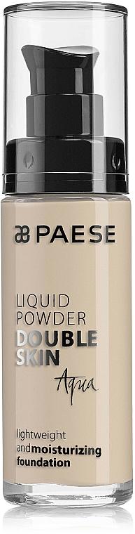 Base de maquillaje líquida hidratante de larga duración para pieles secas y mixtas - Paese Liquid Powder Double Skin Aqua