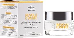 Perfumería y cosmética Crema facial antiimperfecciones con extracto de mora - Farmona Professional Revolu C White Blemish Reducing Cream SPF30
