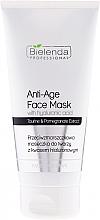 Perfumería y cosmética Mascarilla facial antiedad con ácido hialurónico, extracto de granada - Bielenda Professional Face Program Anti-Age Face Mask With Hyaluronic Acid