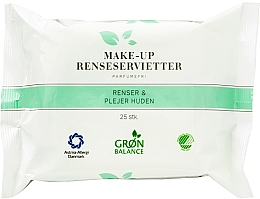 Perfumería y cosmética Toallitas húmedas desmaquillantes - Gron Balance Make-up Wipes 3in1