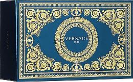 Perfumería y cosmética Versace Eros - Set (eau de toilette/100ml + eau de toilette/mini/10ml + neceser cosmético)