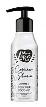 Perfumería y cosmética Leche corporal iluminadora con coco - MonoLove Bio Shimmer Body Milk Coconut Cosmic Shine