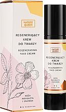 Perfumería y cosmética Crema facial reparadora con rosa mosqueta y azafrán - Nature Queen