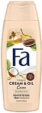 Perfumería y cosmética Crema de ducha con aceite coco y aroma de manteca de cacao - Fa Cacao Butter And Coco Oil