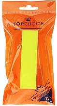 Perfumería y cosmética Bloque pulidor de uñas, grano 120/150, 74813, amarillo - Top Choice Colours Nail Block
