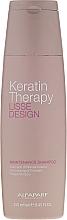 Perfumería y cosmética Champú con queratina y aceite de babasú - Alfaparf Lisse Design Keratin Therapy Maintenance Shampoo