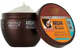 Perfumería y cosmética Mascarilla capilar termo activa con argán - Dermo Pharma Argan Professional 4 Therapy Strengthening & Smoothing Mask