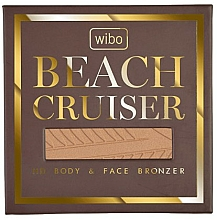 Perfumería y cosmética Bronceador matificante para rostro y cuerpo - Wibo Beach Cruiser Body&Face Bronzer
