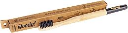 Perfumería y cosmética Cepillo dental de bambú, dureza suave, negro - WoodyBamboo Bamboo Toothbrush Colour