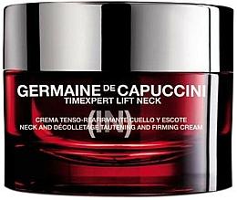 Perfumería y cosmética Crema reafirmante para cuello y escote con calcio y glucosa - Germaine de Capuccini TimExpert Lift (In)