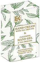 Perfumería y cosmética Brazil Keratin Tea Tree Oil - Set de manos con aceite de árbol de té (crema/100ml + gel/100ml)
