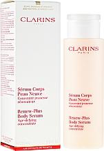 Perfumería y cosmética Sérum corporal con extracto de hibisco y nenúfar blanco - Clarins Renew-Plus Body Serum