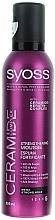 Perfumería y cosmética Espuma para cabello de fijación mega fuerte con ceramidas y queratina - Syoss Ceramide Complex
