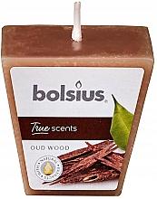 Perfumería y cosmética Vela aromática, árbol de agar 47/47 mm - Bolsius True Scents Candle