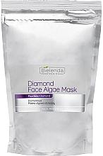 Perfumería y cosmética Mascarilla facial con alginato de diamante - Bielenda Professional Diamond Face Algae Mask (recarga)
