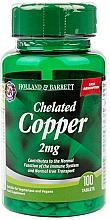 Perfumería y cosmética Complemento alimenticio de cobre quelado, en tabletas 2mg - Holland & Barrett Chelated Copper 2mg