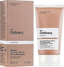 Perfumería y cosmética Crema facial de protección solar con filtros minerales, SPF 30 - The Ordinary Suncare Mineral UV Filters SPF30 Antioxidants