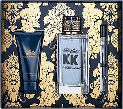 Perfumería y cosmética Dolce&Gabbana K by Dolce&Gabbana - Set (edt/100ml + gel de ducha/50ml + edt/mini/10ml)