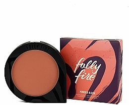 Perfumería y cosmética Colorete facial en polvo compacto - Folly Fire Serial Blusher